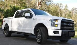 2016 Ford F150 FX4 Supercrew Oxford White 6 Speed 6 SP Auto Active Select Morayfield Caboolture Area Preview