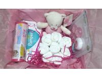 Baby Gift Set Hamper 2 Sizes/Boy/Girl/Baby Shower/New Baby/Hospital/Nappy Cake/Delivery/Collect