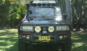 TOYOTA LANDCRUISER 1997 80 SERIES 4 x 4  24 Valve turbo diesel