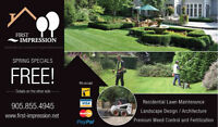 First Impression Lawn Care Services - FREE Core Aeration!!!