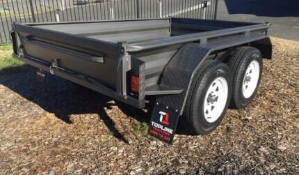 SUPER SALE NEW 8X5 H/D TANDEM BOX TRAILER NEW WHEELS & TYRES Tanah Merah Logan Area Preview