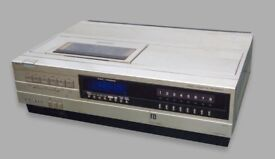 SANYO BETACORD VTC-5150 VCR & 50 BETA CASSETTE TAPES