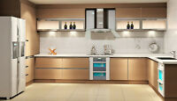 Modern Kitchen Cabinetry - Serengetti Veneer
