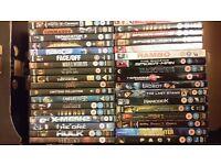 Joblot Bundle of 60 DVDs and 20 series