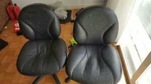3 comfortable chair for sell, with a gift remote car.
