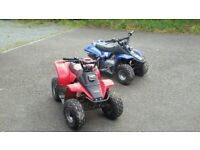 Quad bikes -50cc Petrol -Name your Price!! x2