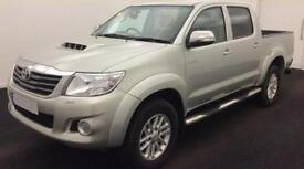 TOYOTA HILUX 2.4 D 3.0 D4-D INVINCIBLE X 4WD CrewCab Pick-up FROM £77 PER WEEK!