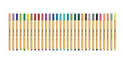Stabilo Point 88 Fine Liner Pens 30 Colors Stationery Markers Drawing
