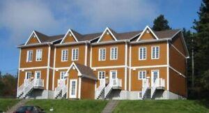 Maison en rangée à louer, construction récente, 3 étages