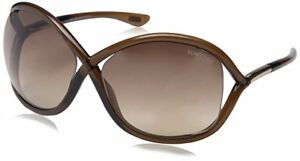 Tom Ford Authentic Women's TF008 Jennifer 38F Sunglasses Brown