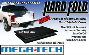 Best Priced HardFold! TonnoPro Aluminium Tri-Fold Tonneau Covers