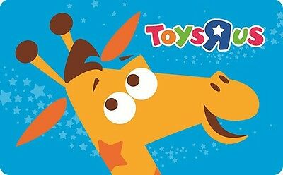 Toys R Us Gift Card  25  50 Or  100   Email Delivery