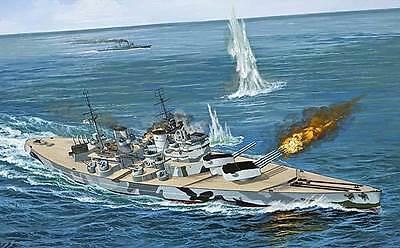 Revell 1:570 05102: Battleship H.M.S.Prince de Wales