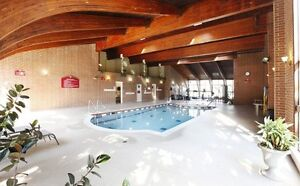 Luxarious Pool, Sauna & GYM with 2 edroom / 2 FULL bath