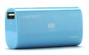 Pisen 2500mAh Power Bank for Smartphone - Blue
