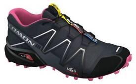 BARELY USED Salomon Speedcross 3 Women Trail Shoes (RRP £98)