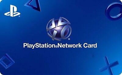 Sony Playstation Network Gift Card    20 Or  50   Email Delivery
