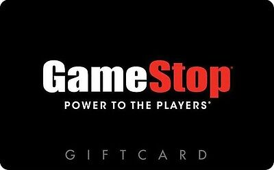 Gamestop Gift Card  25  50  100   Email Delivery