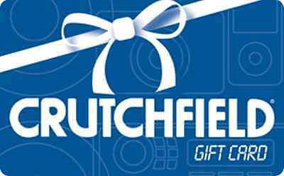 Crutchfield Gift Card    25  50  100   Email Delivery