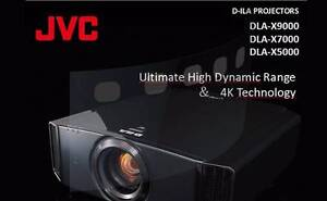 JVC X7000 UHD Projector Como South Perth Area Preview