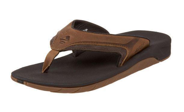 Reef Leather Flip-Flops