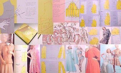 Cr.DESIGN ART SEW. Slopers designing dress making fashion drafting pattern alter