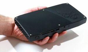 Intel NUC i7-6770HQ Thunderlbolt 3 USB-C SSD NVME 500gb inclus