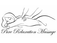 new massage therapist in Kingston and Surbiton
