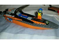Lego City 60085 4 x 4 with Powerboat