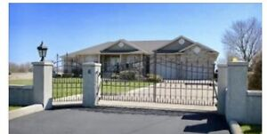 Immediate possession !!!!Home sits on a 1 acre lot 32 by 64 heat