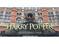 Harry Potter Cursed Child 2 tickets Part 1 and Part 2