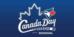 TORONTO BLUE JAYS VS DETROIT TIGERS CANADA HAT DAY SUN JULY 1