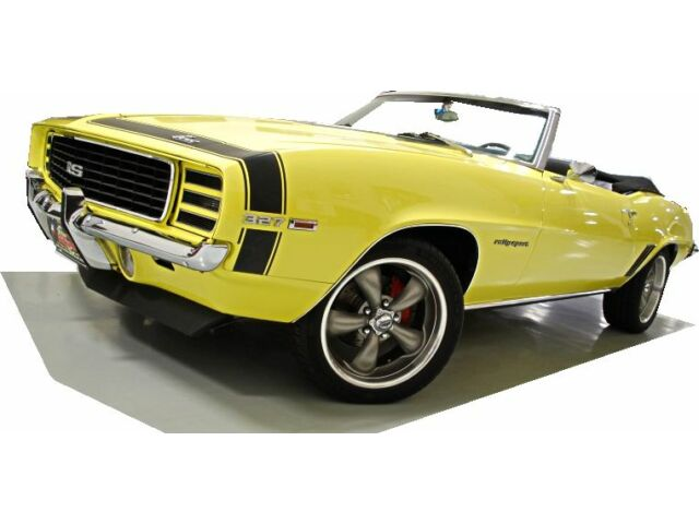 Chevrolet : Camaro Rally Sport HIGH QUALITY RESTORED RS 69 CONVERTIBLE AUTO PS 4 WHEEL DISC AC DELUXE INT COYS