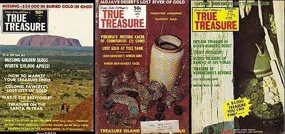 True Treasure Magazine 3 Issues lost buried gold coins #17