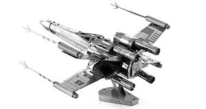 Star Wars X-wing Fighter Metal DIY Model Assembly Building