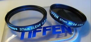 37mm Tiffen ND and UV Filters