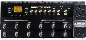 Line 6 POD X3 Live Guitar Floorboard Pedal Multi-Effects