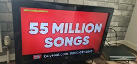 BUSH 32 INCH SCREEN HD LCD FREE VIEW TV £50