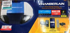Chamberlain wifi battery back up garage door opener 1-1/4hp belt