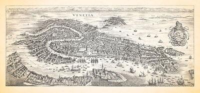 Venetia Venice Italy Lagoon Mediterranean Markusplatz Canal Grande Merian 1014