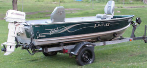 Lund Rebel Adventure fishing Package for sale.