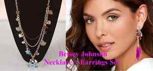 BRAND NEW Betsey Johnson Layered Necklace + Parrot Earrings Kitchener / Waterloo Kitchener Area image 1