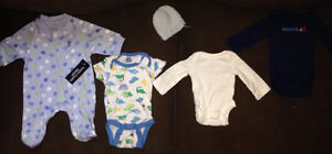 Some New & Lightly Used Preemie Clothes
