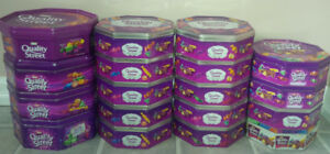 Storage Tins - 18 in all Great for crafts or kids toys.