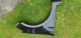 Renault clio offside front wing