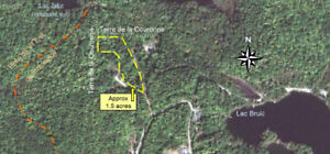 Land for sale waterfront access in Outaouais