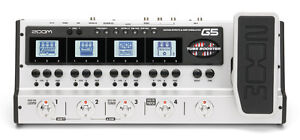 Zoom G5 Guitar Effects, Amp Simulator Stompbox Interface Z Pedal