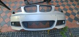 Bmw 1 Series E88 E82 E87 E81 Front M Sport Bumper Breaking Parts
