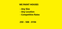 We Paint Houses