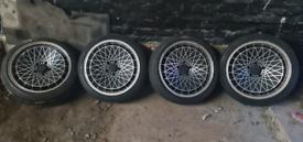 "Bmw 1 Series E88 E82 E87 E81 18"" Rota Alloy Wheels Breaking"